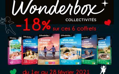 Saint-Valentin pensez Wonderbox !