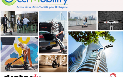 Occi'Mobility, Trottinettes électriques